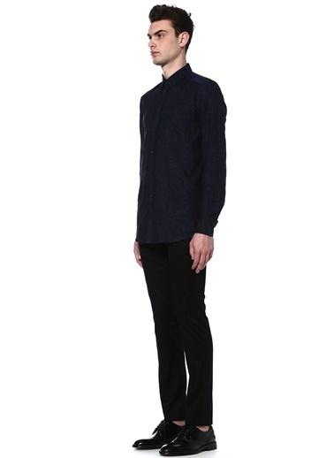 Çiçek Desenli Uzun Kollu Gömlek-Dolce&Gabbana
